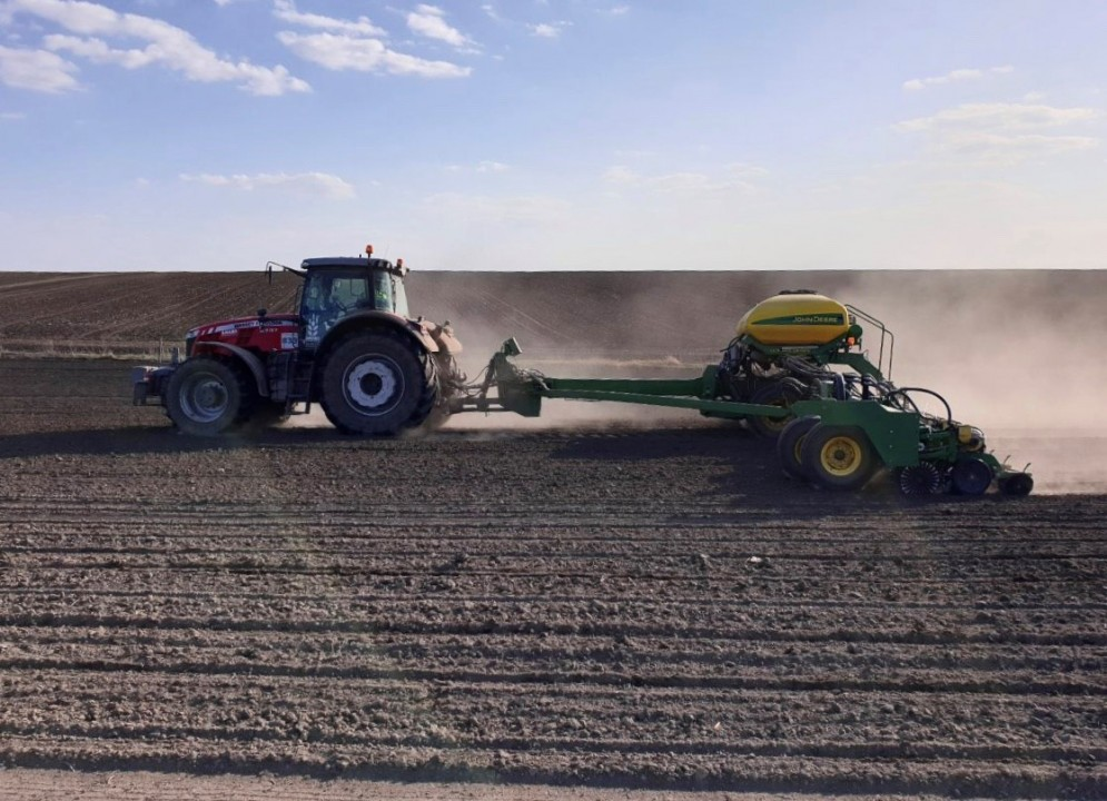 Spring Sowing is Gaining Momentum at Continental Farmers Group